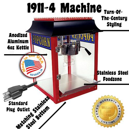 1911 popcorn machine