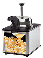 Concession Equipment, Butter Warmers, Nacho Cheese Warmers, Chili Dog Sauce Dispensers
