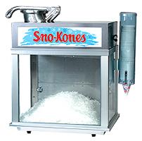 Deluxe Sno-Konnete snow cone machine