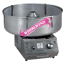 Gold Medal Whirlwind cotton candy machine
