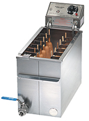Corn dog fryer and accessories