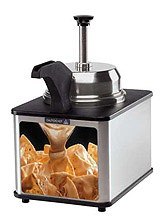 Heater spout nacho cheese dispenser. #1 Seller!
