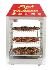 Two Door Pizza Display & Merchandiser