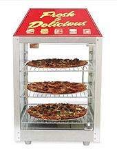 Two Door Pizza Display & Merchandiser