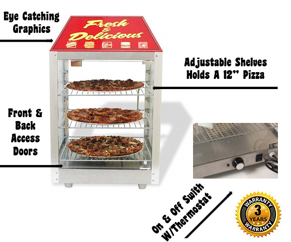 sc 1 st  Concession Equipment.net & 2-Door Warmer Merchandiser
