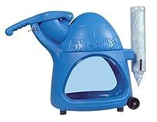 Cooler Snow cone machine