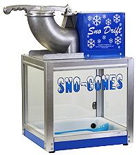 Snow Drift snow cone machine
