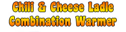 Dual Cheese/Chili Ladle Warmer