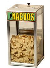 Combination nacho chip warmer