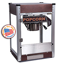 Cineplex Copper popcorn machine