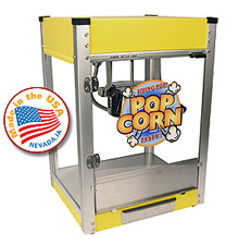 Cineplex Yellow popcorn machine