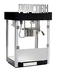 Metropolitan Four popcorn machine