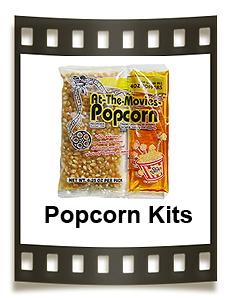 Popcorn portion packs. 4oz, 6oz, 8oz, & 12oz Kettle sizes