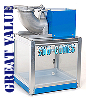 Sno-Drift snow cone machine