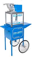Sno-Drift snow cone machine with matching cart.