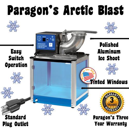 arctic blast snow cone machine