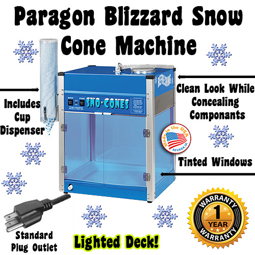 blizzard snow cone machine