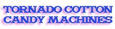 Gold Medal Tornado cotton candy machine